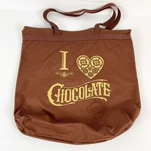 Universal Studios I Love Chocolate Heart TOTE